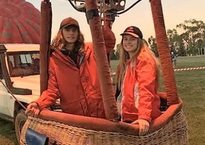 Young Frasers at Leeton Balloon Festival NSW
