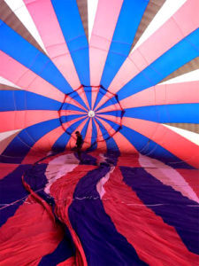 Pre Flight Balloon Check by Pilot